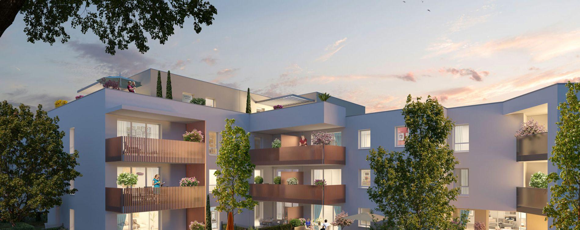 Castelnau-le-Lez : programme immobilier neuve « Programme immobilier n°219307 » en Loi Pinel