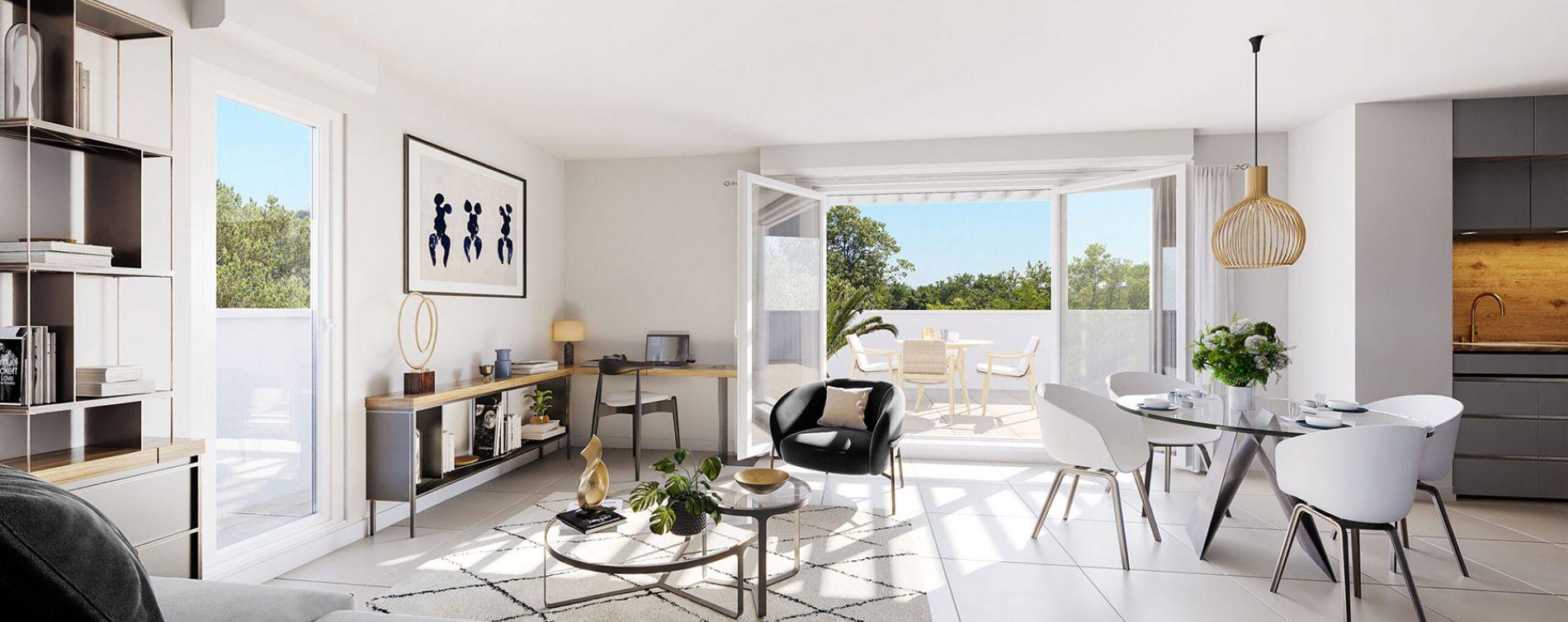 Castelnau-le-Lez : programme immobilier neuve « Programme immobilier n°219307 » en Loi Pinel (4)