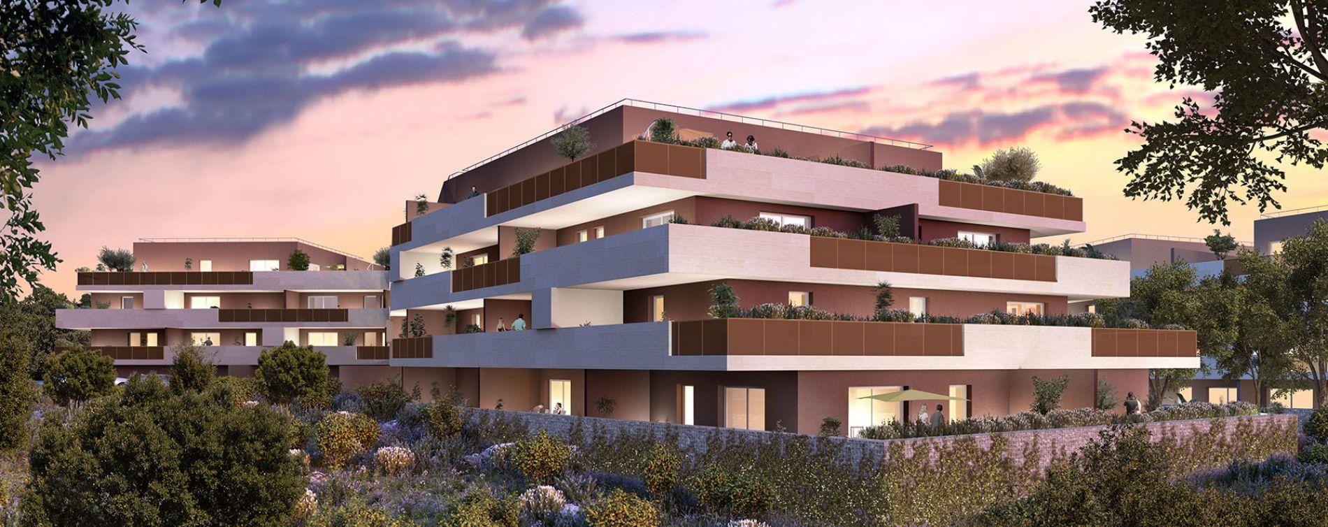 Castries : programme immobilier neuve « Domaine Les Lavandières Tr. 1 » en Loi Pinel