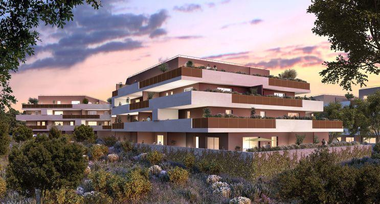 Castries programme immobilier neuf « Domaine Les Lavandières Tr. 1 » en Loi Pinel