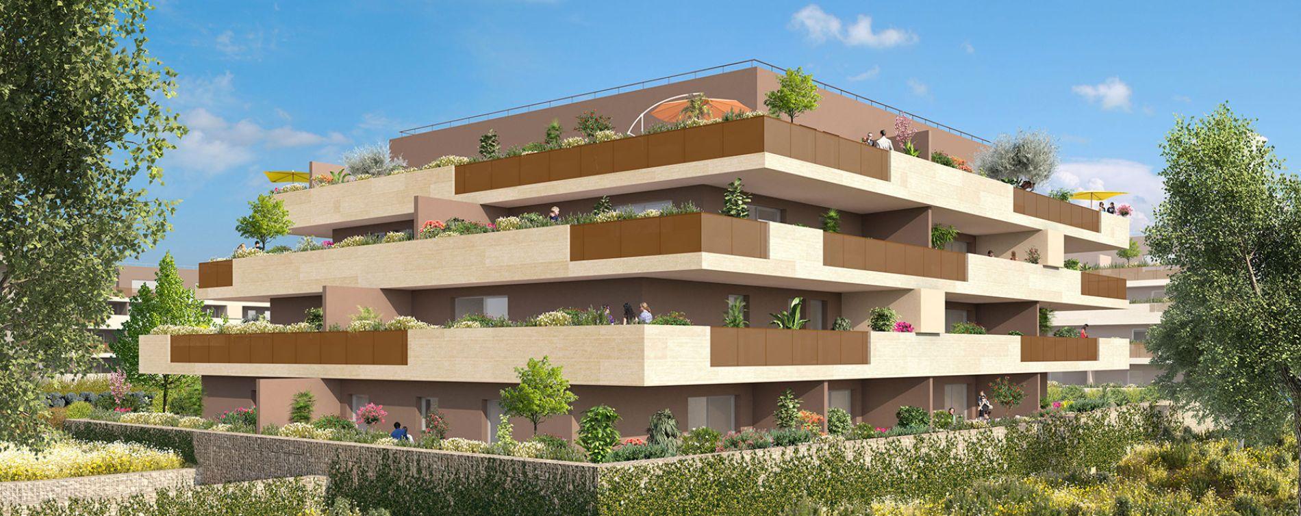 Castries : programme immobilier neuve « Domaine Les Lavandières » en Loi Pinel (4)