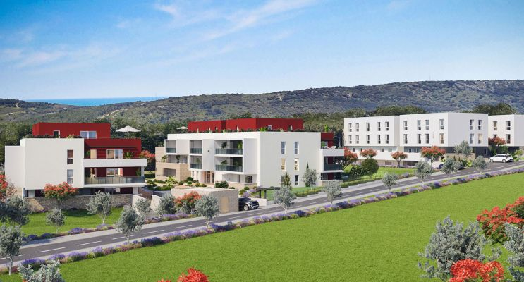 Résidence « Les Terrasses De La Fabrique » programme immobilier neuf en Loi Pinel à Fabrègues n°1