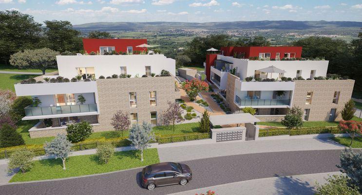 Résidence « Les Terrasses De La Fabrique » programme immobilier neuf en Loi Pinel à Fabrègues n°3