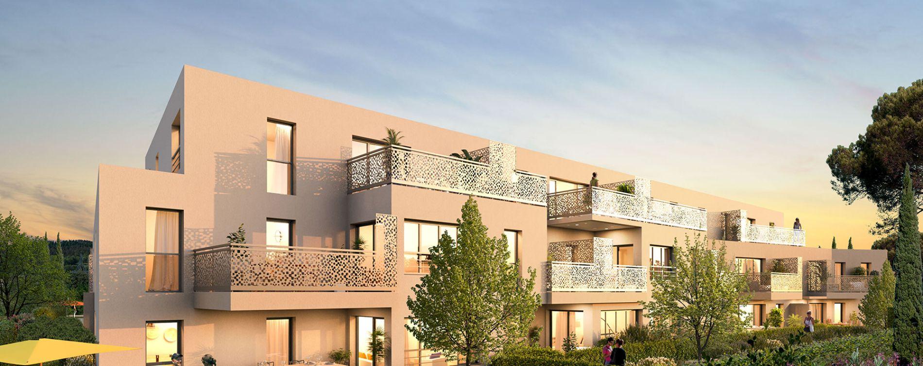 Frontignan : programme immobilier neuve « Le Smart » en Loi Pinel