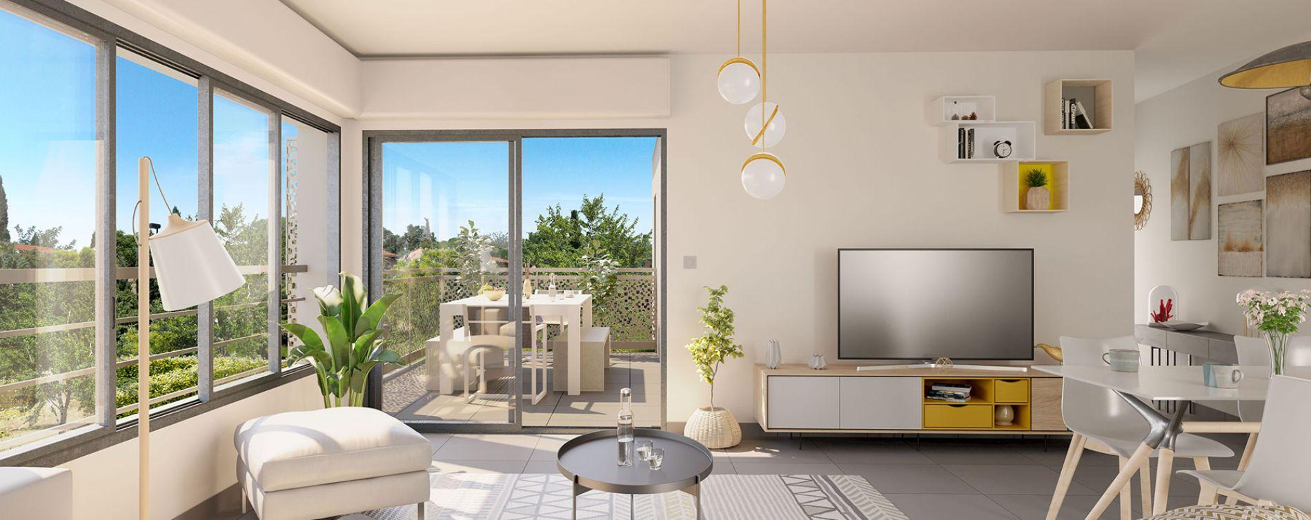 Frontignan : programme immobilier neuve « Le Smart » en Loi Pinel (2)
