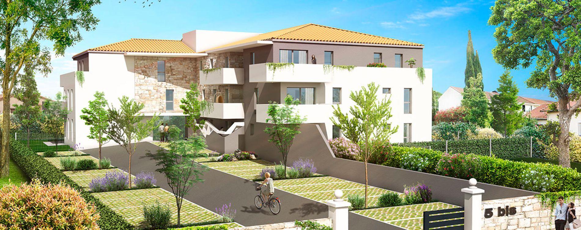 Frontignan : programme immobilier neuve « Les Jardins de Sidonie » en Loi Pinel