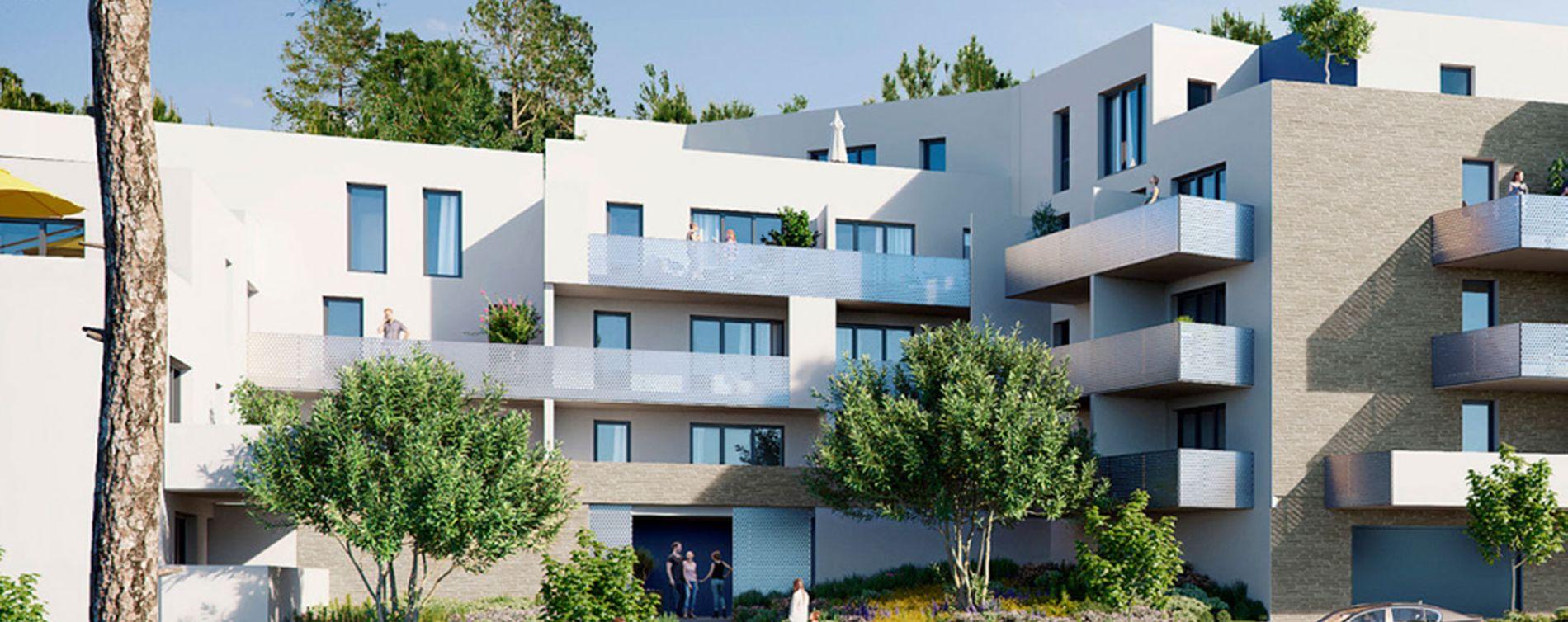 Gigean : programme immobilier neuve « Bleu d'Eole » en Loi Pinel