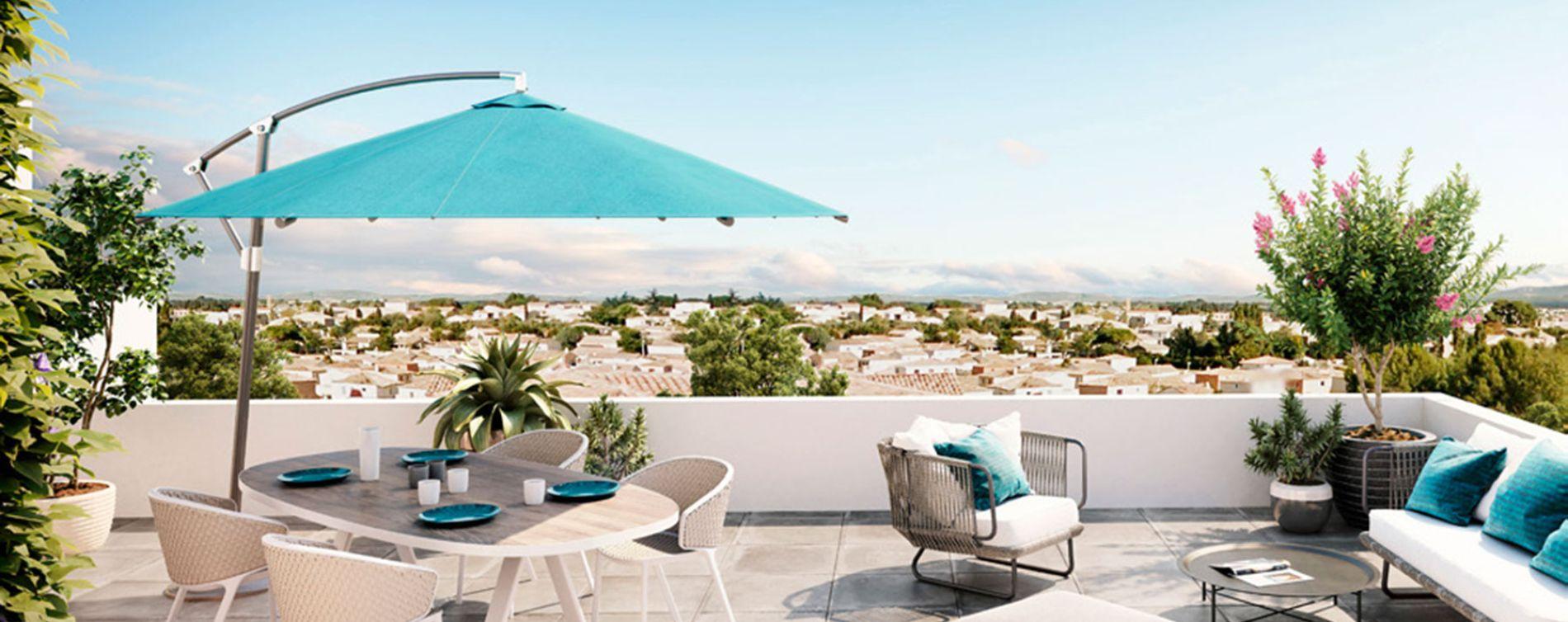 Gigean : programme immobilier neuve « Bleu d'Eole » en Loi Pinel (3)