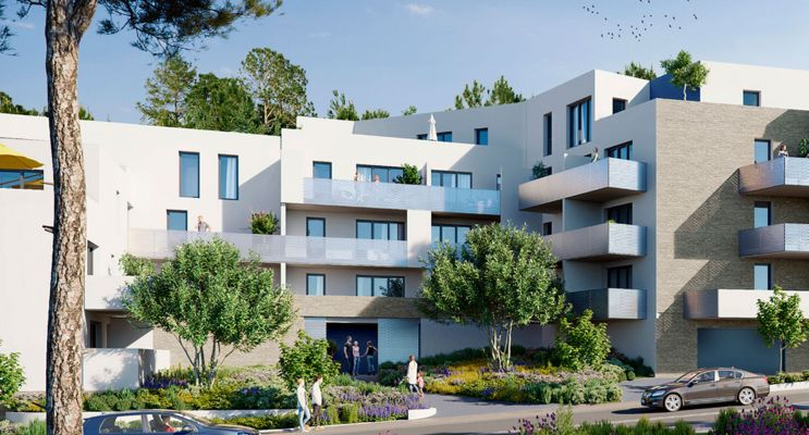 Photo du Résidence « Bleu d'Eole » programme immobilier neuf en Loi Pinel à Gigean