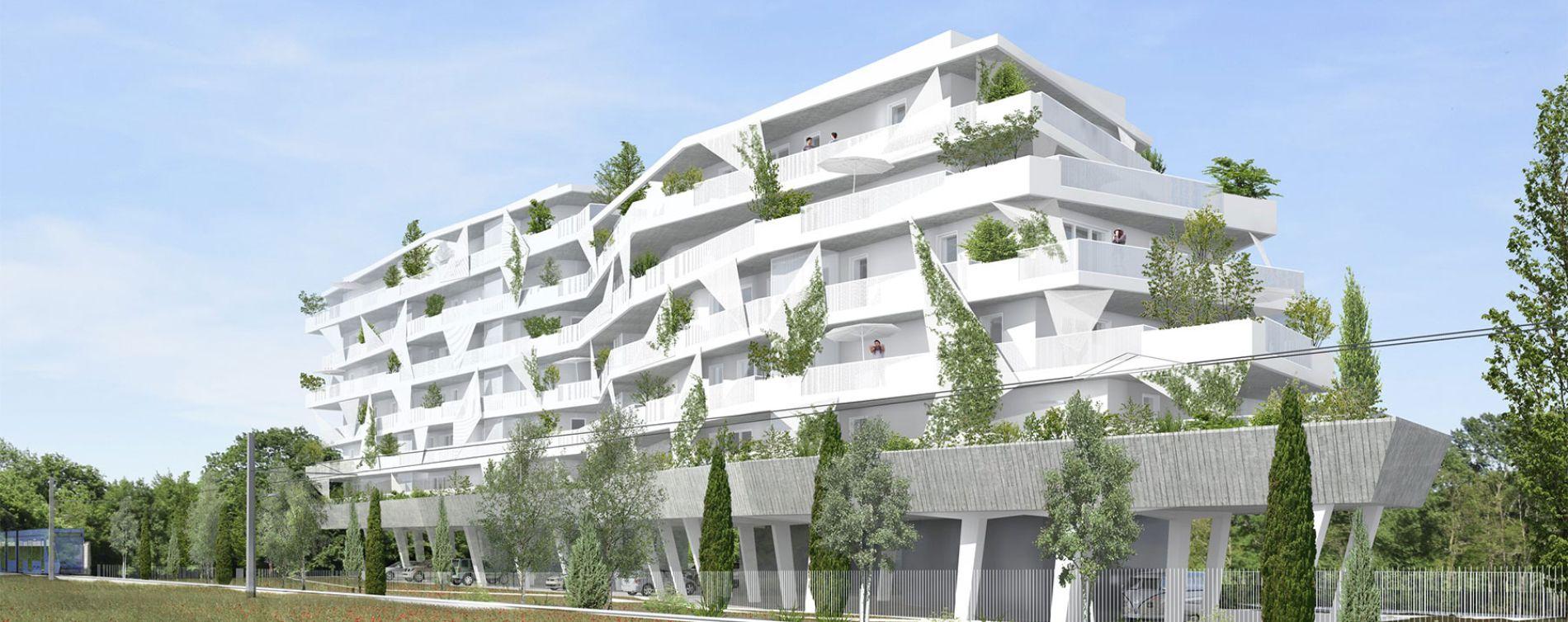 Lattes : programme immobilier neuve « Mira »