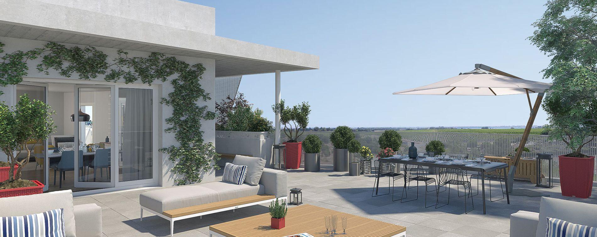 Lattes : programme immobilier neuve « Mira » (3)