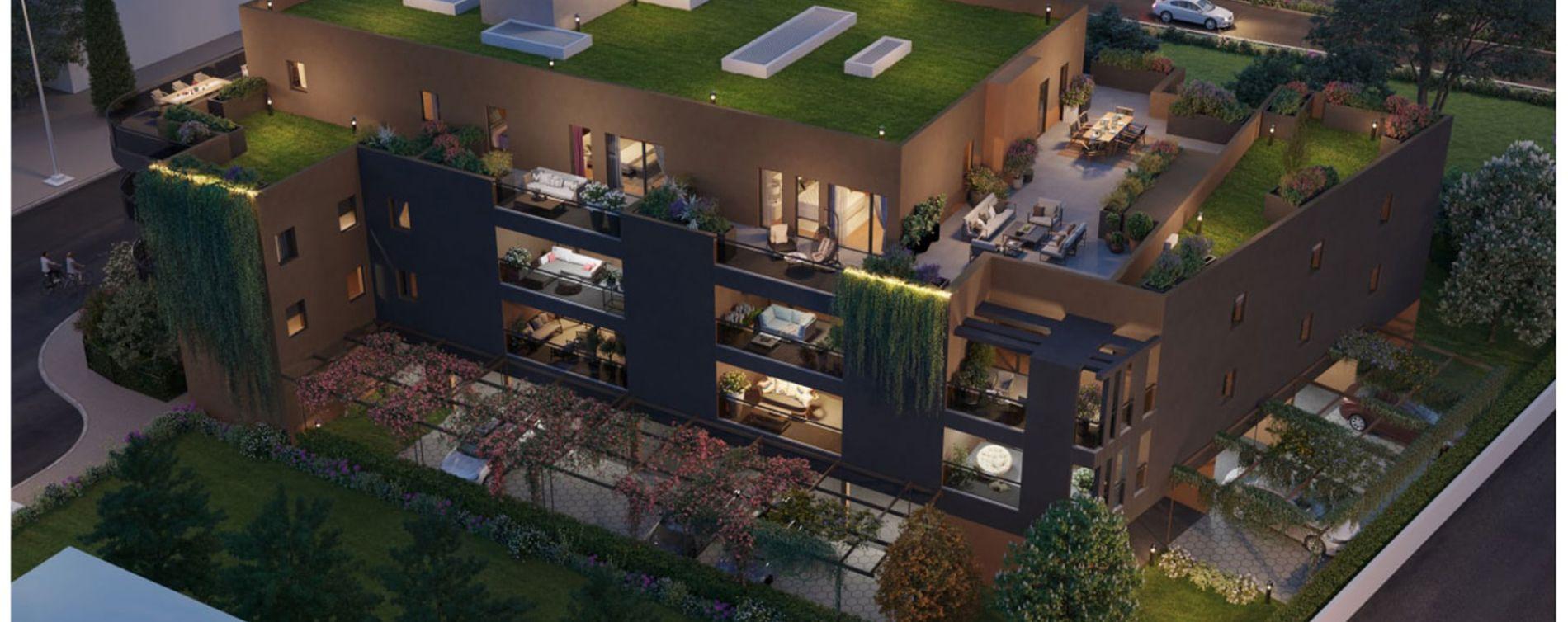 Lattes : programme immobilier neuve « Savanna » en Loi Pinel (2)
