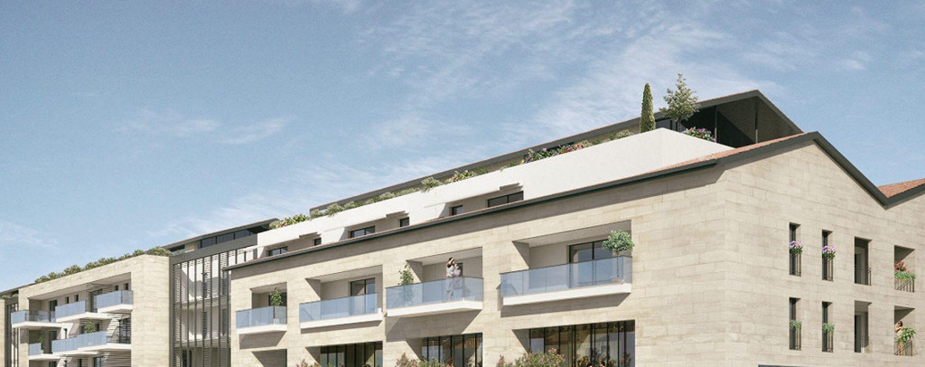 Marseillan : programme immobilier neuve « Millésime » en Loi Pinel (2)