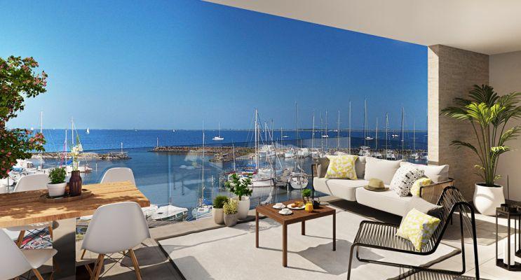 Marseillan : programme immobilier neuf « Millésime » en Loi Pinel