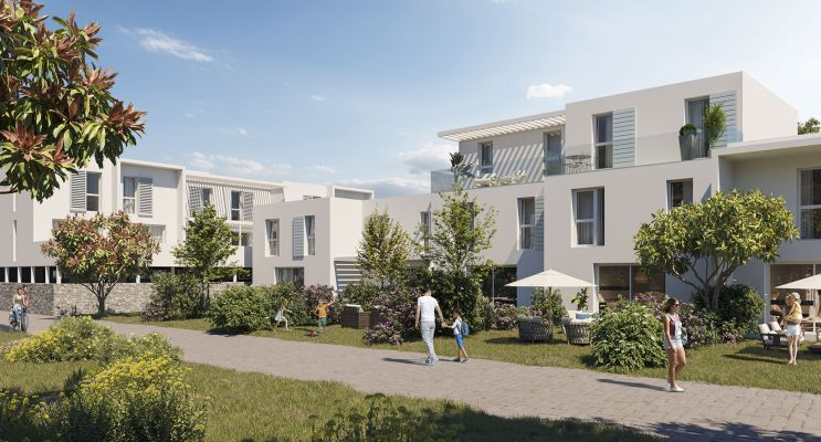 Photo du Résidence « Le Domaine des Vignes » programme immobilier neuf en Loi Pinel à Marsillargues