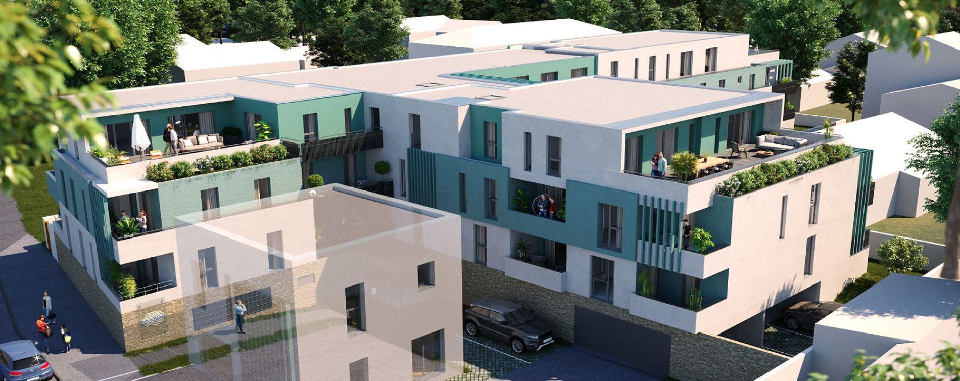 Mauguio : programme immobilier neuve « Le Clem » en Loi Pinel