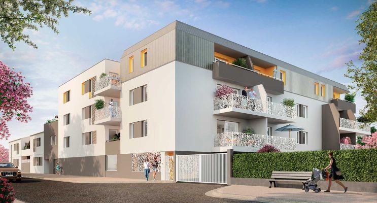 Mauguio programme immobilier neuf « Patio Clément » en Loi Pinel