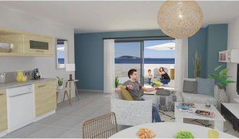 Résidence « Seaside » programme immobilier neuf en Loi Pinel à Mèze n°1