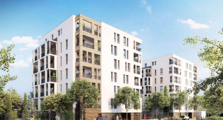 Résidence « 811 Petipa » programme immobilier neuf en Loi Pinel à Montpellier n°1