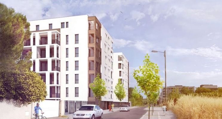 Résidence « 811 Petipa » programme immobilier neuf en Loi Pinel à Montpellier n°2