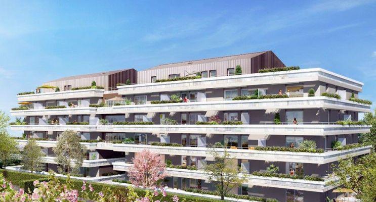 Résidence « Alcove » programme immobilier neuf en Loi Pinel à Montpellier n°1