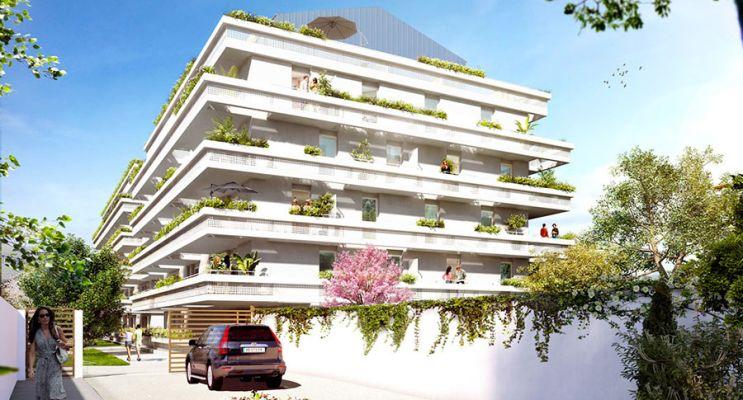 Résidence « Alcove » programme immobilier neuf en Loi Pinel à Montpellier n°2