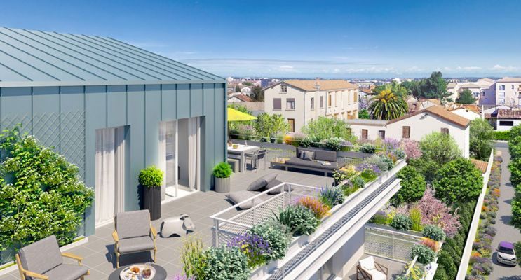 Résidence « Alcove » programme immobilier neuf en Loi Pinel à Montpellier n°3