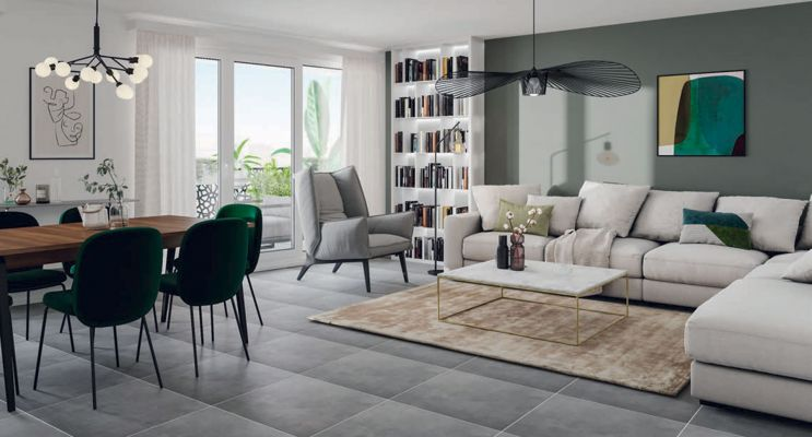 Résidence « Apsara » programme immobilier neuf en Loi Pinel à Montpellier n°4