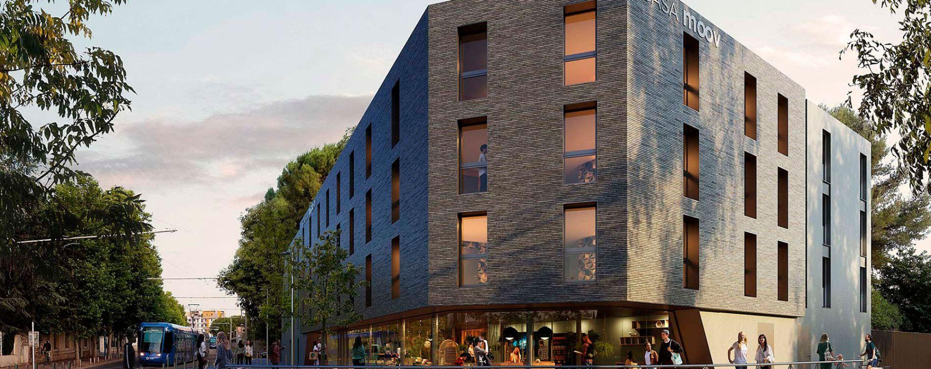 Montpellier : programme immobilier neuve « Casa Moov »