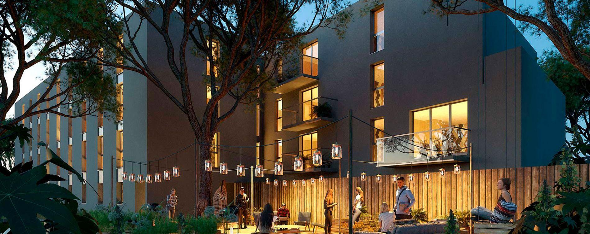 Montpellier : programme immobilier neuve « Casa Moov » (2)