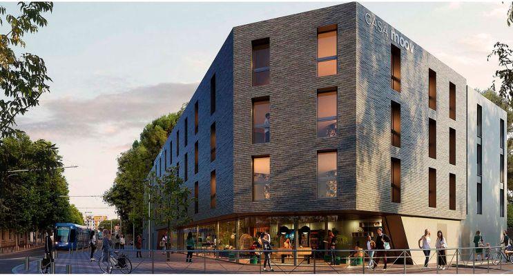 Photo du Résidence « Casa Moov » programme immobilier neuf à Montpellier