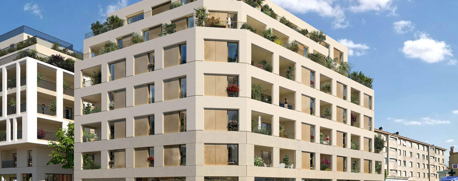 Montpellier : programme immobilier neuve « Programme immobilier n°219125 » en Loi Pinel