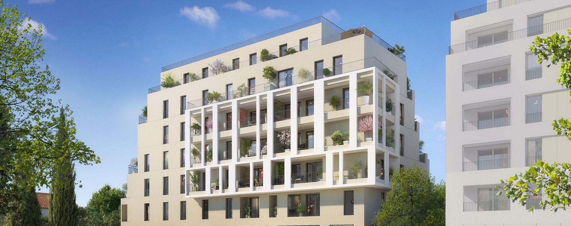 Montpellier : programme immobilier neuve « Diane » en Loi Pinel