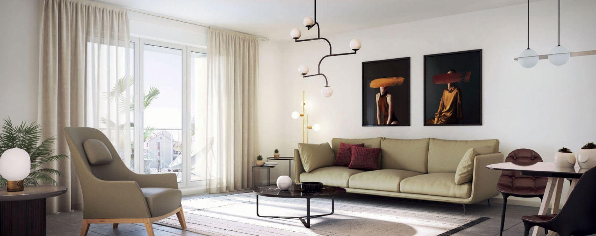 Montpellier : programme immobilier neuve « Diane » en Loi Pinel (3)