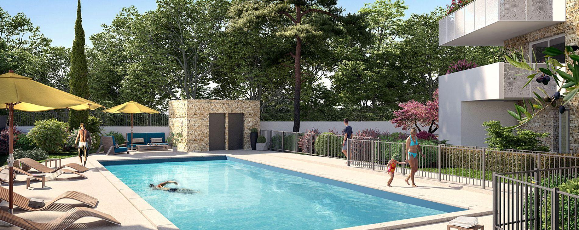 Montpellier : programme immobilier neuve « Domaine d'Antonin » en Loi Pinel