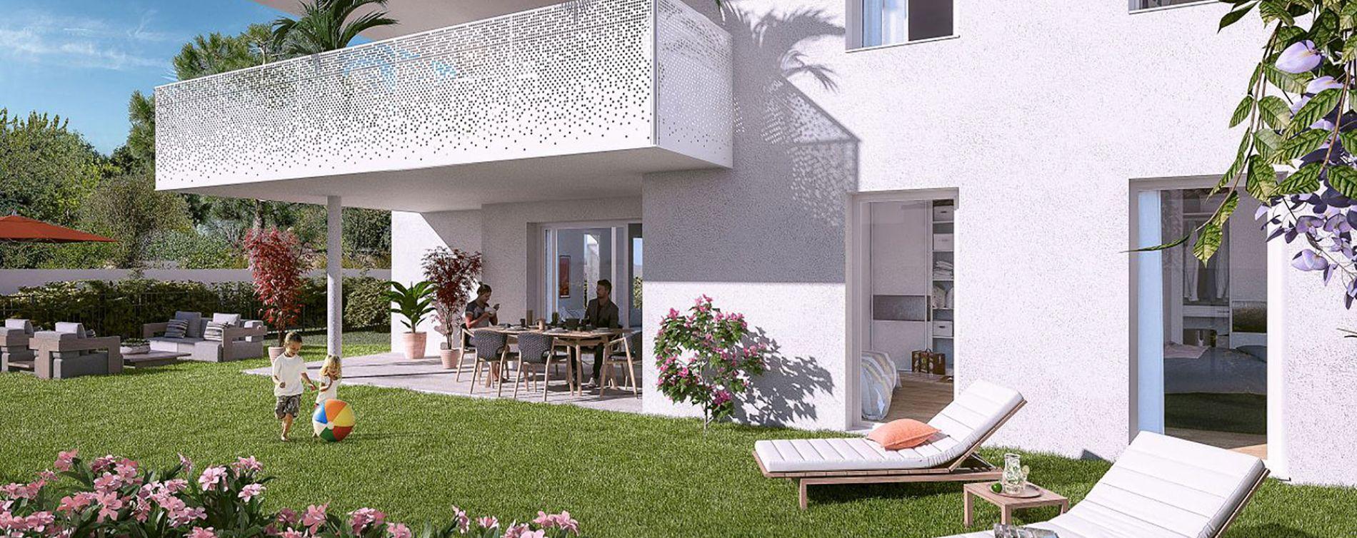 Montpellier : programme immobilier neuve « Domaine d'Antonin » en Loi Pinel (3)