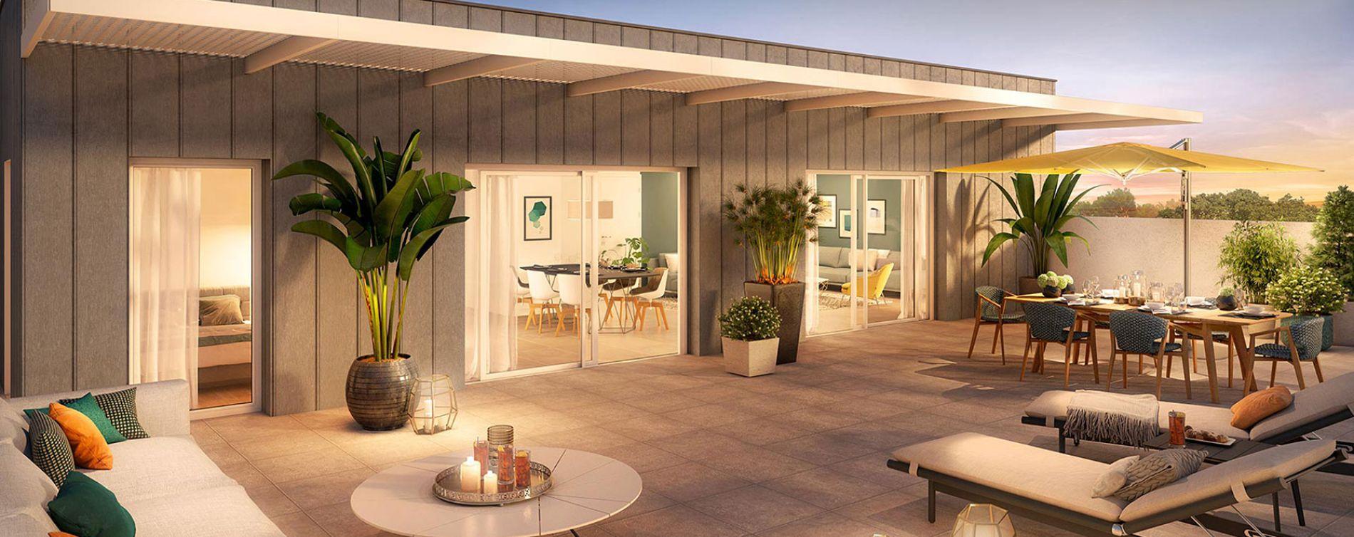 Montpellier : programme immobilier neuve « Domaine d'Antonin » en Loi Pinel (5)