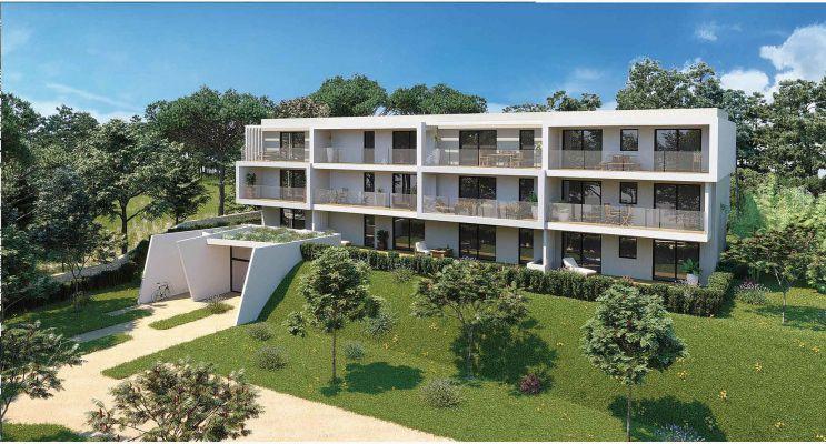 Photo du Résidence « Domaine de Tiara - Saona » programme immobilier neuf en Loi Pinel à Montpellier