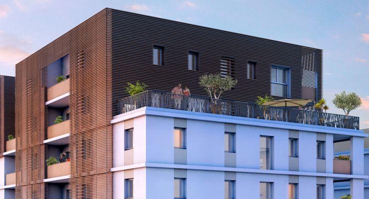 Résidence « Elaïa » programme immobilier neuf à Montpellier n°2