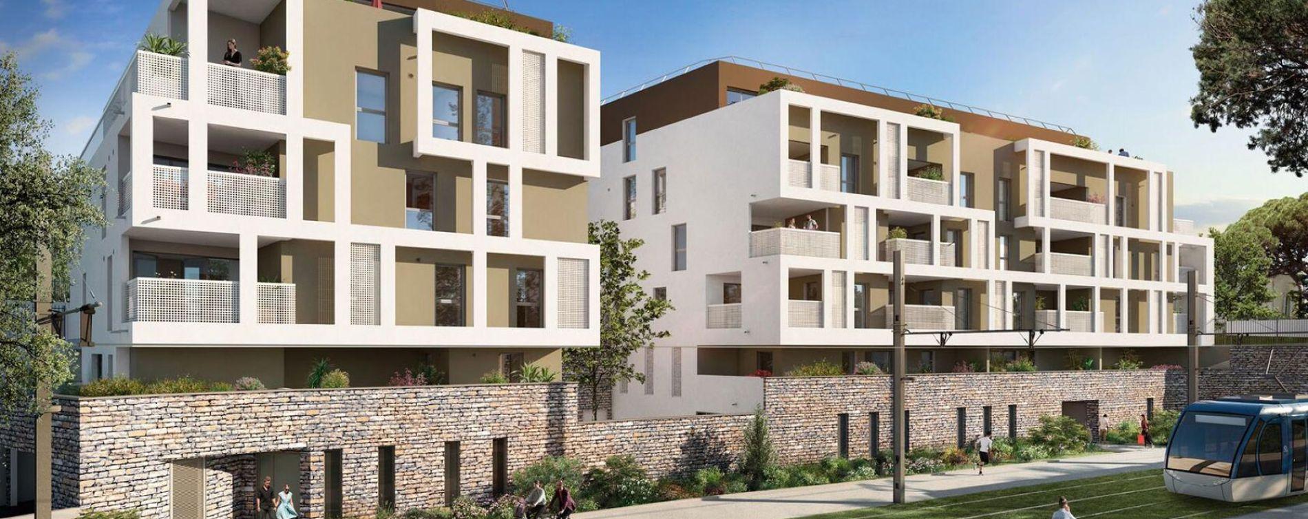 Montpellier : programme immobilier neuve « Programme immobilier n°218850 » en Loi Pinel
