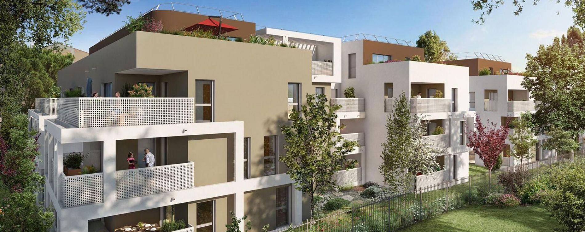 Montpellier : programme immobilier neuve « Programme immobilier n°218850 » en Loi Pinel (2)