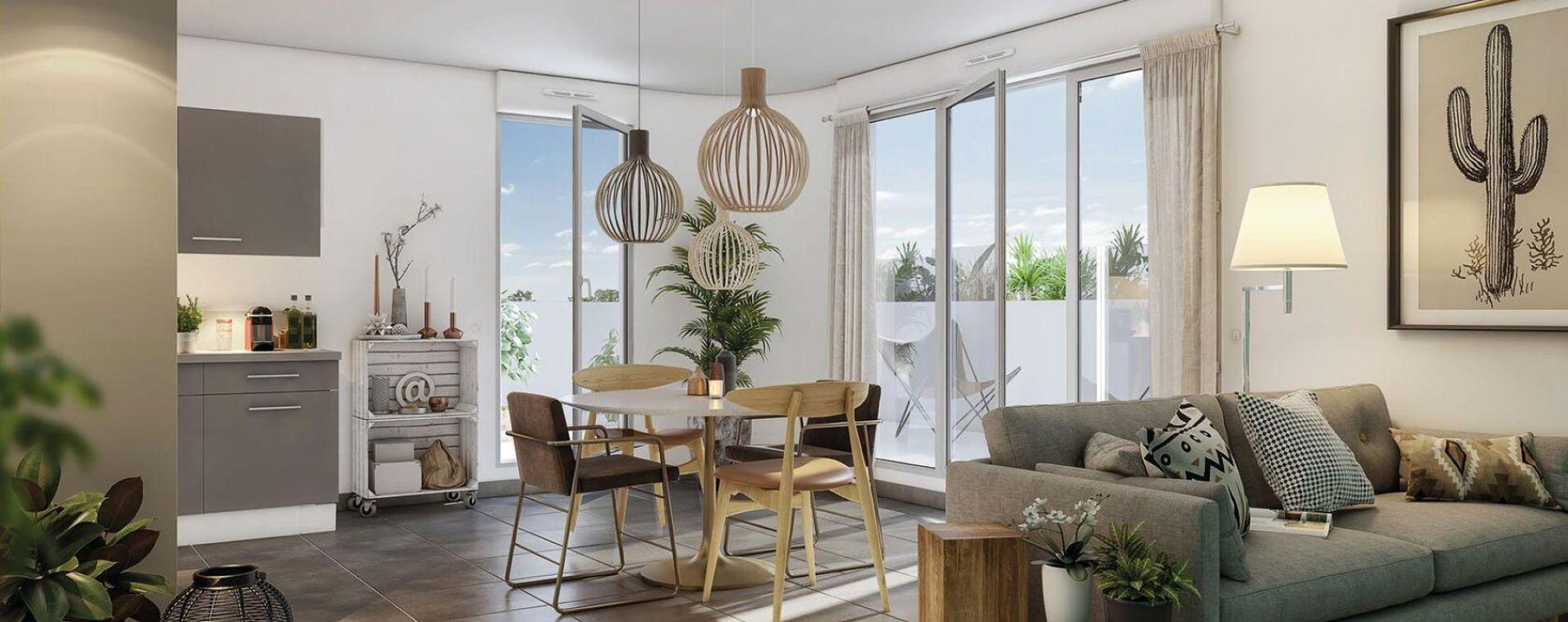 Montpellier : programme immobilier neuve « Programme immobilier n°218850 » en Loi Pinel (3)