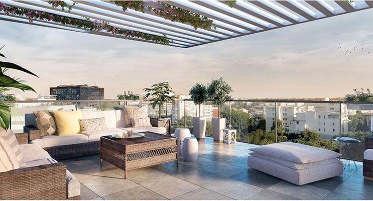 Résidence « Esquisse » programme immobilier neuf en Loi Pinel à Montpellier n°1