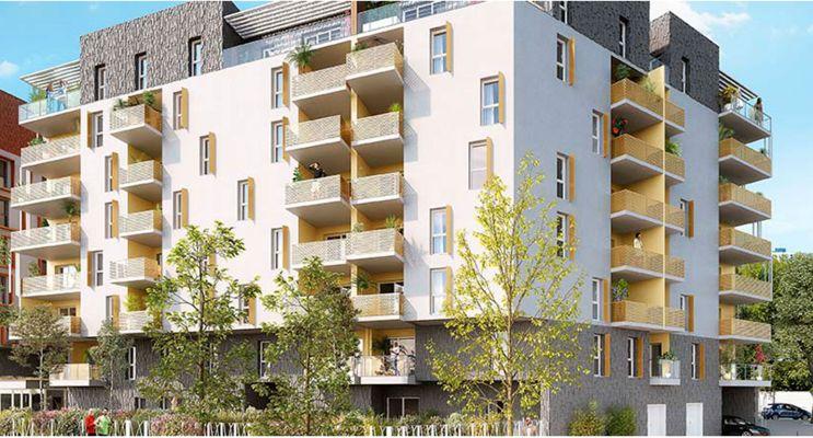 Résidence « Esquisse » programme immobilier neuf en Loi Pinel à Montpellier n°2