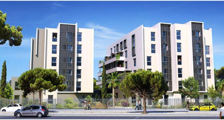 Photo du Résidence « Fac Story » programme immobilier neuf à Montpellier