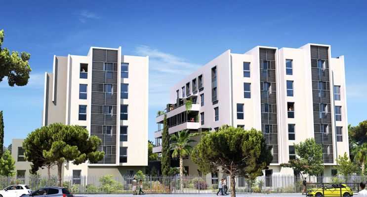 Photo du Résidence « Fac'Story » programme immobilier neuf à Montpellier