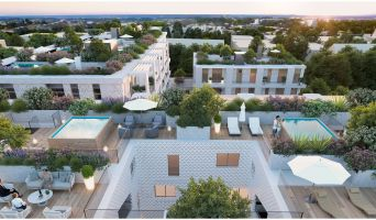Résidence « Faubourg 56 » programme immobilier neuf en Loi Pinel à Montpellier n°4
