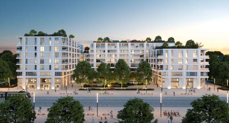 Photo du Résidence « Faubourg 56 » programme immobilier neuf en Loi Pinel à Montpellier