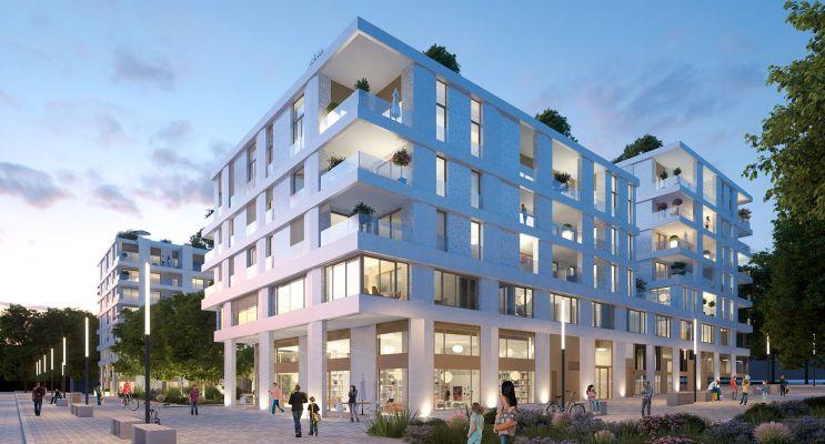 Résidence « Faubourg 56 » programme immobilier neuf en Loi Pinel à Montpellier n°2