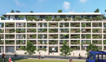 Montpellier programme immobilier neuve « Hermès 56 » en Loi Pinel  (2)
